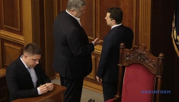 НАЗК взялося за декларації Зеленського і Порошенка