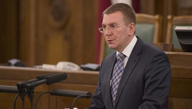 Глава МЗС Латвії подякував Пристайку і зідзвонився з Кулебою