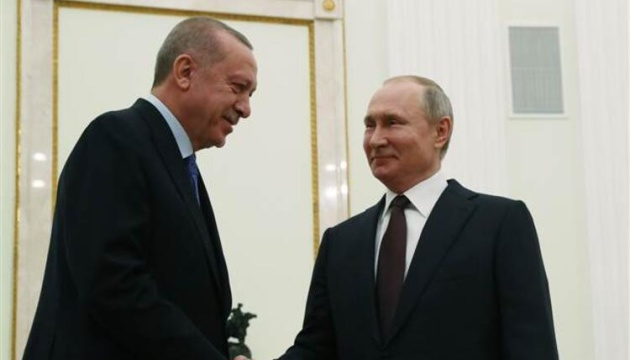 Ердоган зустрінеться з Путіним у Москві