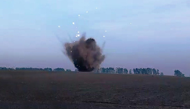 Під Черніговом стався потужний вибух - сапери підірвали дві бомби