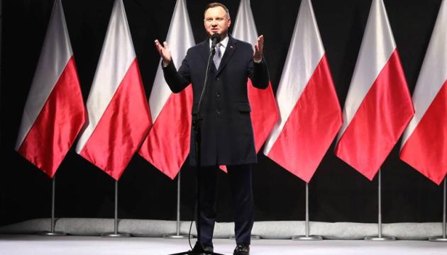 Дуда випередив конкурентів у першому турі президентських виборів у Польщі