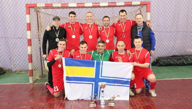 Команда ВМС виграла першість Збройних Сил України з футзалу