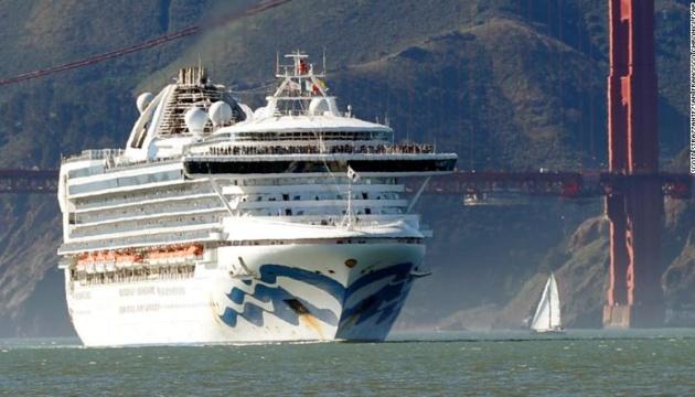 Пасажирам карантинного лайнера Grand Princess дозволять зійти на берег Каліфорнії