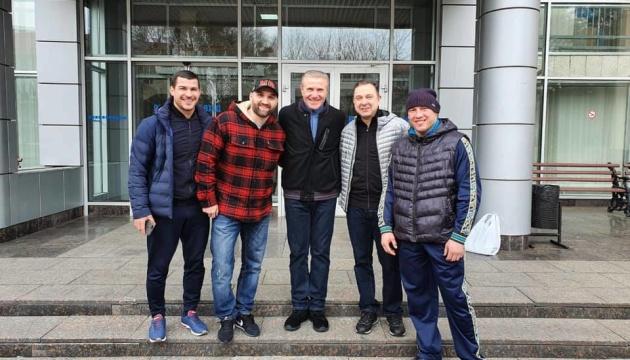Сергей Бубка и Вадим Гутцайт посетили олимпийскую базу в Конча-Заспе