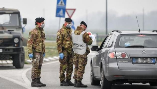 Італія вводить карантин по всій країні