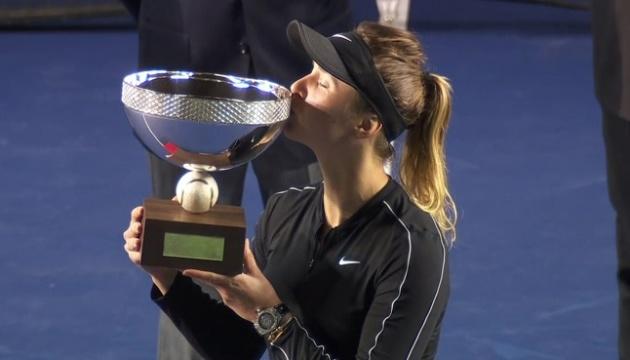 Світоліна виграла турнір WTA в Монтерреї