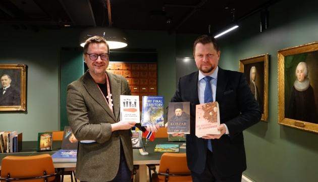 У найбільшій бібліотеці Норвегії створено «українську поличку»
