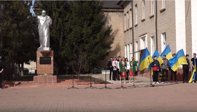 Луганщина встановила рекорд України зі спільного читання «Кобзаря»
