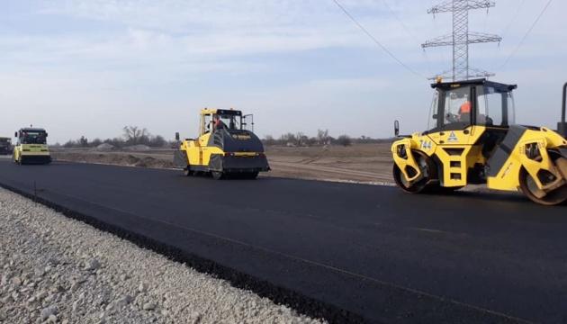На Дніпропетровщині розпочався новий сезон будівництва траси Дніпро - Решетилівка