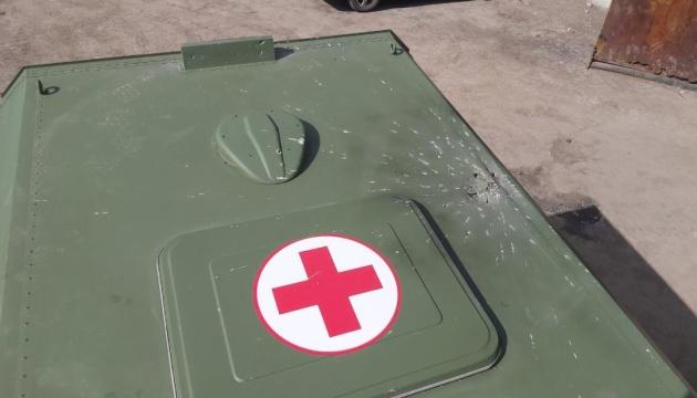 Прокуратура відкрила справу через обстріл санітарного автомобіля ЗСУ