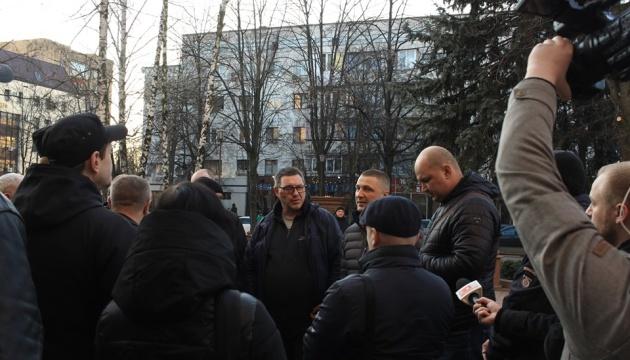 Загибель волонтера: ветерани АТО/ООС пікетували поліцію у Житомирі