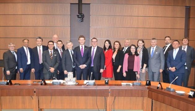 В СКУ привітали Івана Бейкера, який очолив парламентську групу дружби між Україною та Канадою
