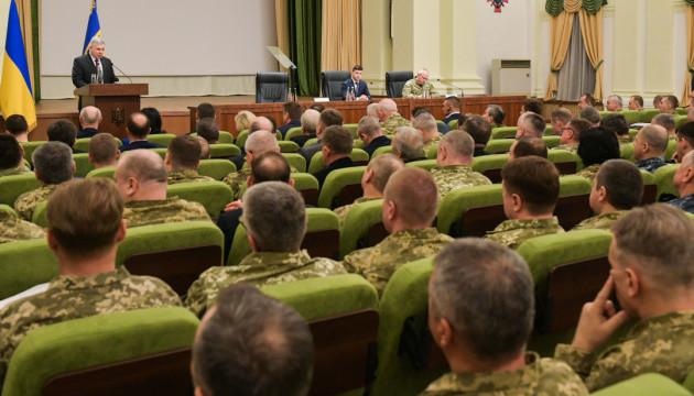 Зеленский представил нового министра обороны