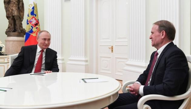 Нацрада перевірить «NewsOne» та «112 Україна» через піар зустрічі Медведчука з Путіним