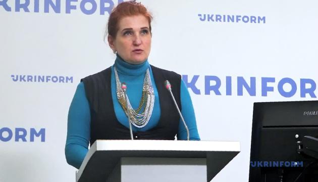 Брифинг пресс-секретаря министра обороны Украины Светланы Павловской