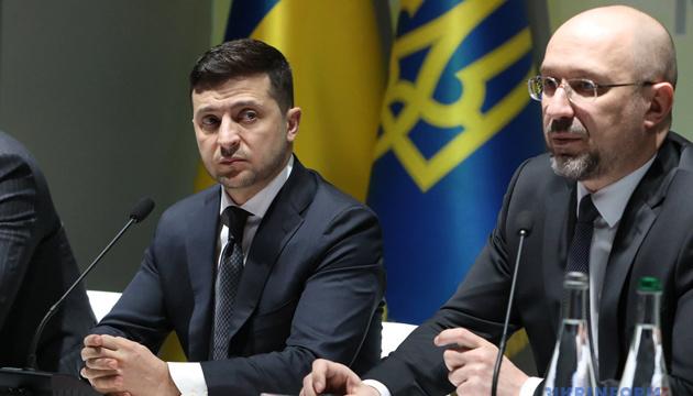 Volodymyr Zelensky se déclare satisfait du travail de Denys Chmygal