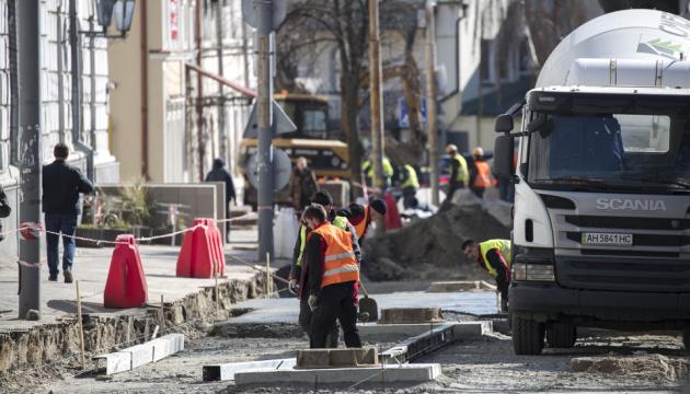 На столичному Подолі почали капітальний ремонт доріг