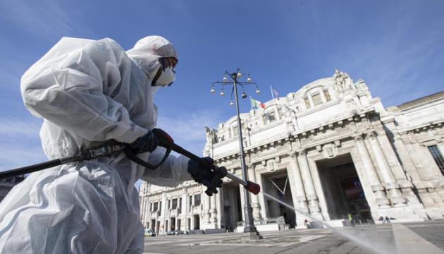 Covid-19 в Италии: число смертей превысило 8000