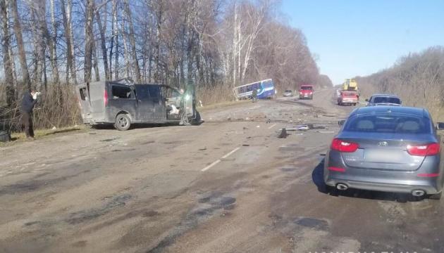 Неподалік Сум — ДТП за участю рейсового автобуса, троє загиблих