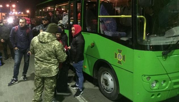 Prawie 4,5 tysiąca osób, które utknęły na granicy UE, wróciło na Ukrainę