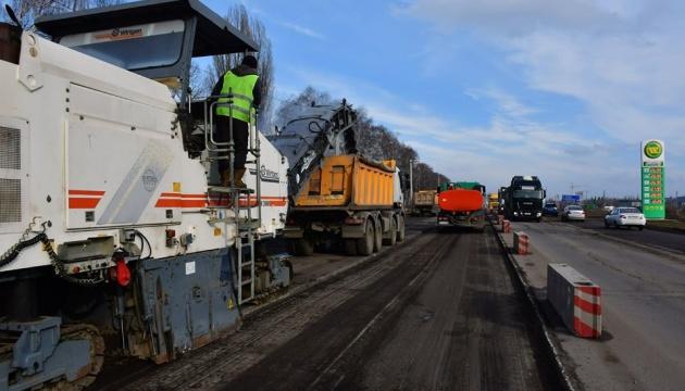 Велике будівництво: у Полтаві ремонтують трасу Київ - Харків