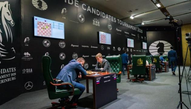 Завершилися партії другого кола турніру претендентів ФІДЕ на світову шахову корону