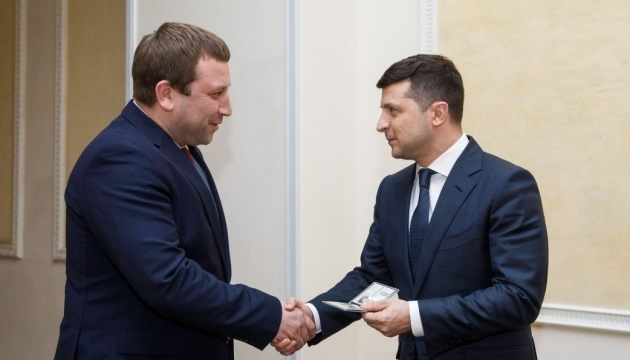 Trush appointed as new chairman of Ternopil Regional State Administration