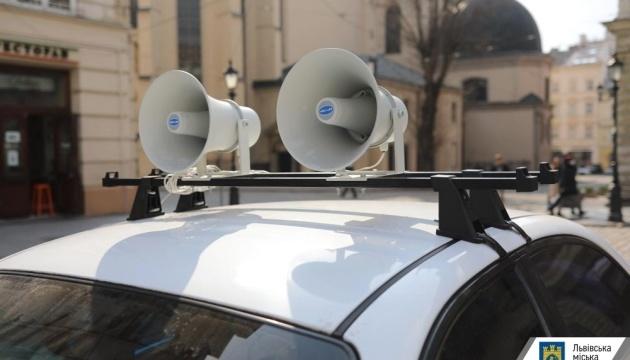 По Україні запускають авто з гучномовцями для інформування про коронавірус