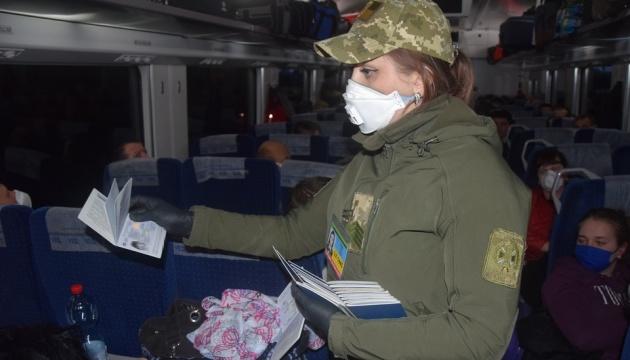 1150 Ukrainer mit zwei Sonderzügen aus Polen ausgereist