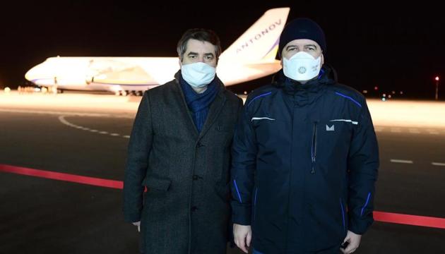 Український Ан-124 привіз до Чехії з Китаю 100 тонн медичного вантажу