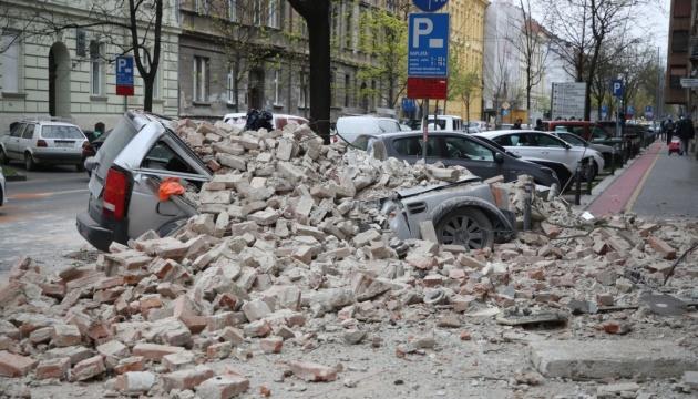 У Загребі сталося три потужні землетруси, загинув 15-річний хлопець
