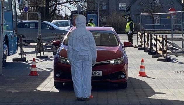 Кількість заражених у країнах Балтії перевищила тисячу