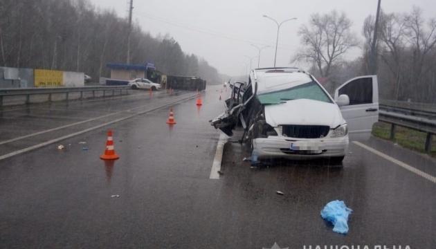 У ДТП на Київщині постраждали семеро людей