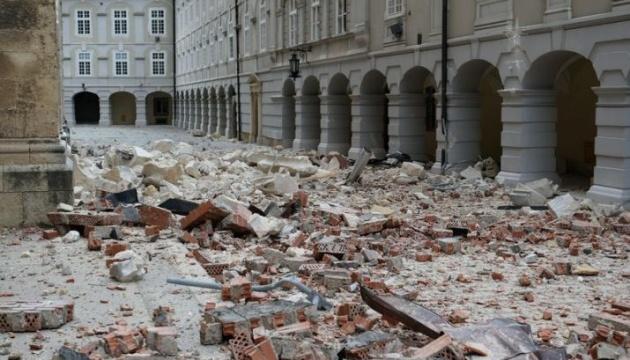 Землетрус у Загребі не заподіяв шкоди українцям - посол