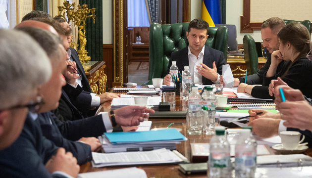 President appoints Razumkov, Bakanov members of Coordination Council to fight COVID-19 spread