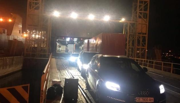 У Чорноморськ прибув пором з Туреччини, на борту - 38 українців