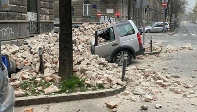 Землетрус у Хорватії: 17 постраждалих, пошкоджені будівлі