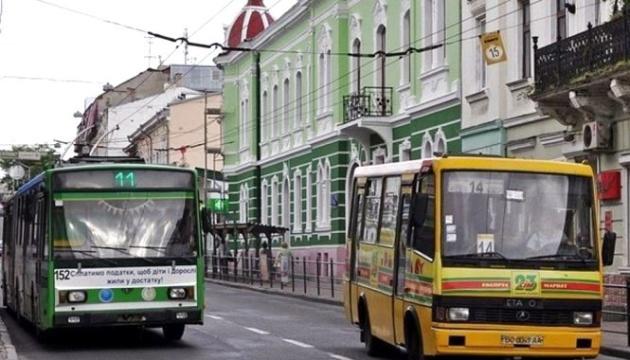 Тернопіль призупинив роботу громадського транспорту