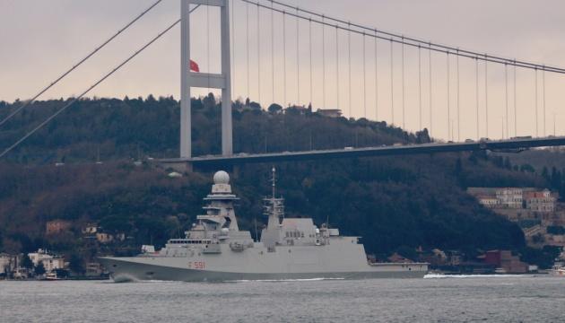 В Черное море вошли три корабля НАТО