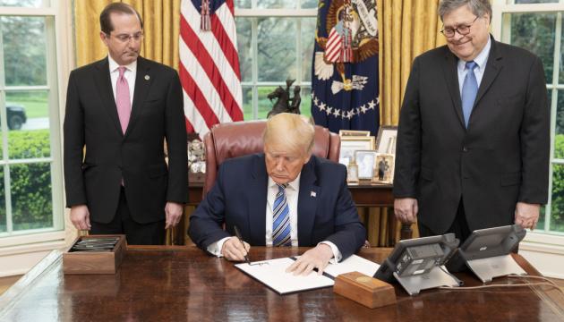 Трамп видав указ проти спекуляцій з критично важливими товарами й ліками