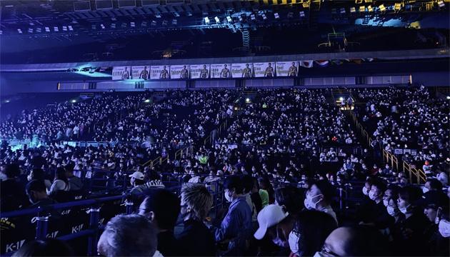 У Токіо 10000 глядачів відвідали турнір із кікбоксингу