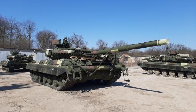 Українські військові отримали модернізовані танки Т-64