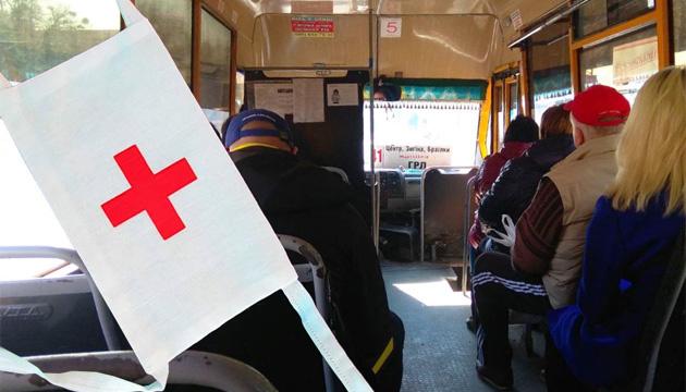 На Полтавщині для всіх медиків організували підвіз до роботи