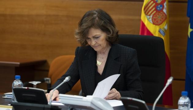 Віцепрем'єр-міністр Іспанії заразилася коронавірусом