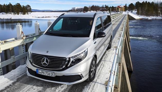 Mercedes-Benz представил свой электрический минивэн