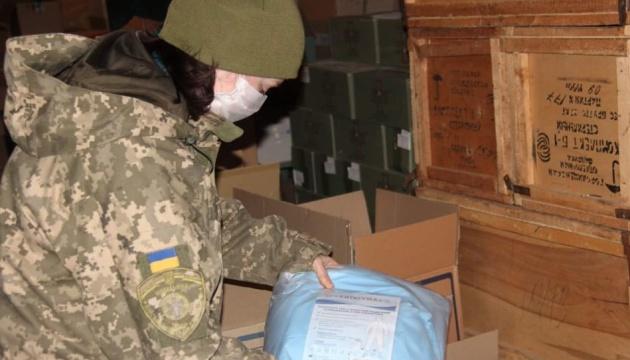 Сили ООС на Донбасі отримали партію медзасобів для протидії коронавірусу