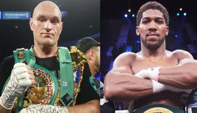 Боксерський бій Ф'юрі - Джошуа пройде не раніше лютого 2021 року