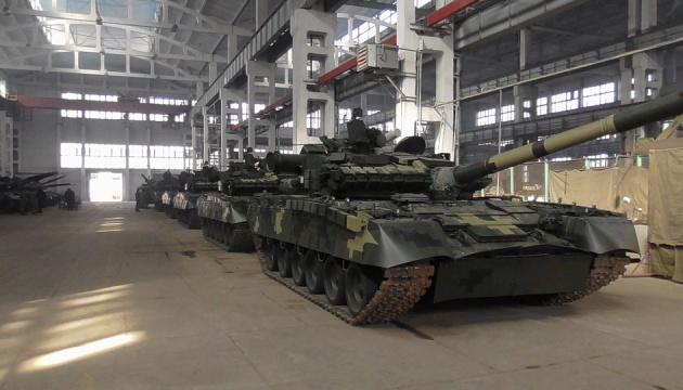 Украинские военные получили модернизированные танки Т-80БВ