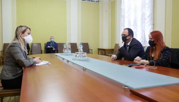 На Банковой обсудили с представителями ЮНИСЕФ соцподдержку в условиях пандемии