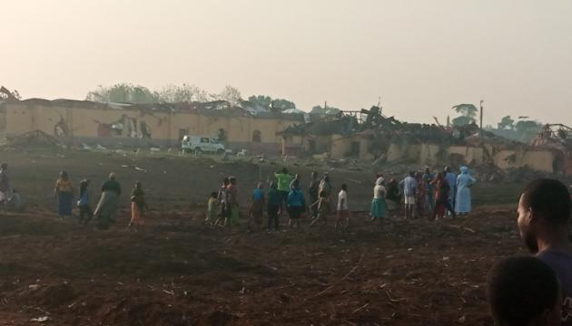 У Нігерії потужний вибух зруйнував сотні будинків